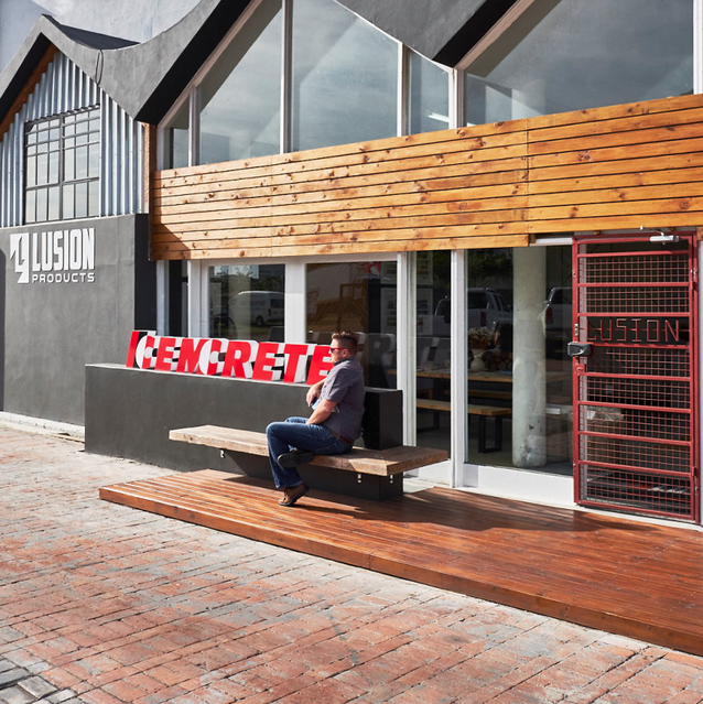 Lusion Products Showroom In Port Elizabeth Suppliers Of Cemcrete